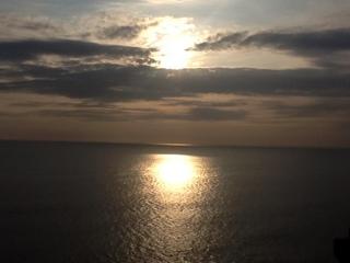バリ2012年夕陽